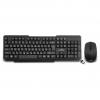 Комплект клавиатура + мышь беспроводные DeTech DT-301W новая